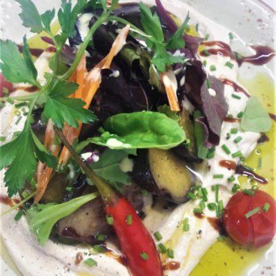 Salat Tehina frisches Gemüse